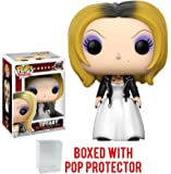 Funko Pop! Horror: Bride of Chucky - Tiffany Vinyl Figure (Bundled with Pop BOX PROTECTOR CASE)