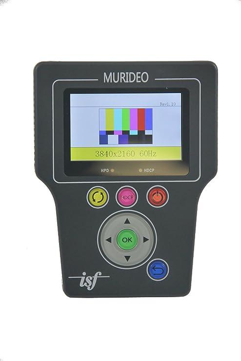 Amazon.com: Murideo Fresco SIX-G ~ HDMI 2.0 & HDCP 2.2 ~ 4K Signal Generator Tester: Electronics