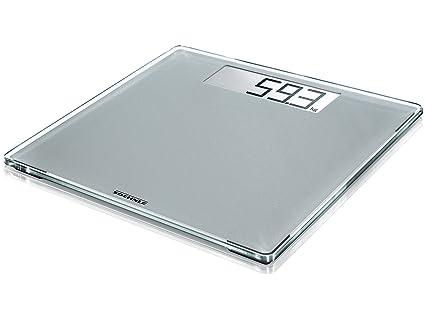 Soehnle Style Sense Comfort 400 - Bascula de bano digital, color plata