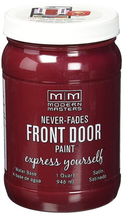 b10a7b4710f5 Amazon.com  Modern Masters 275268 Satin Front Door Paint