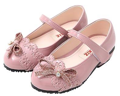 f4a89c8d6178 Ozkiz Toddler Girls   Little Girls Flat Sandals with Ribbon PK 1M