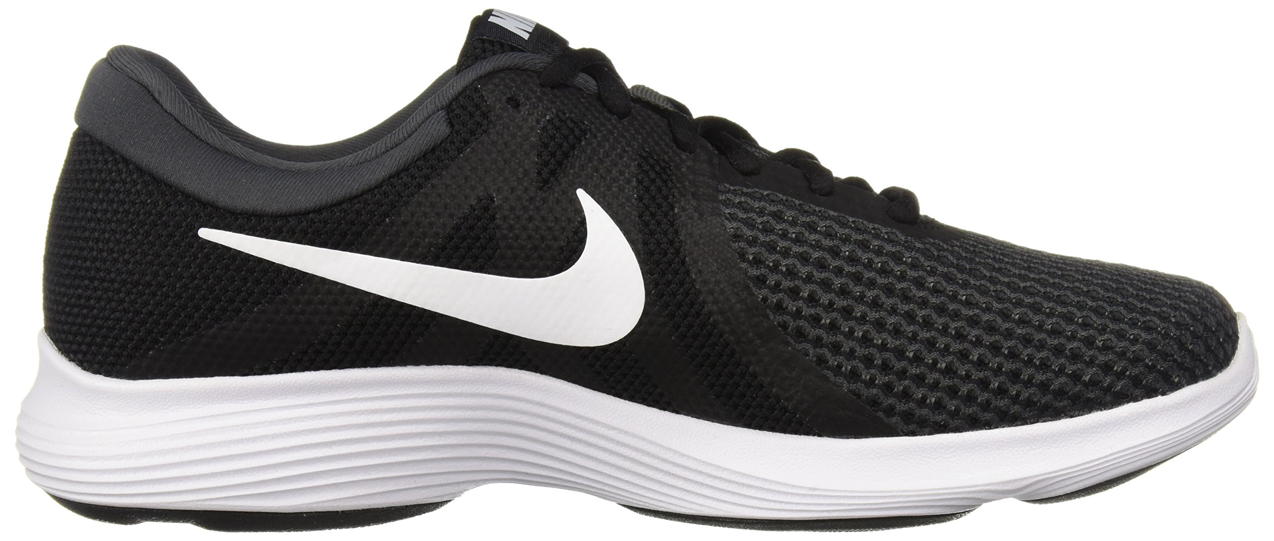 Nike Men's Revolution 4 Running Shoe, Black/White-Anthracite, 6.5 Regular US by Nike (Image #6)