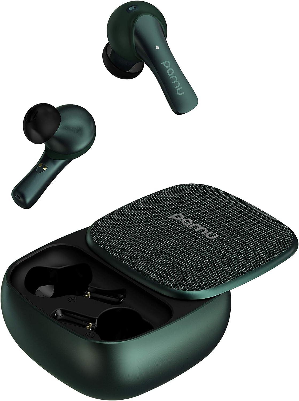 Padmate Pamu Slide Grün Bluetooth 5 0 Tws Earbuds Mit Elektronik