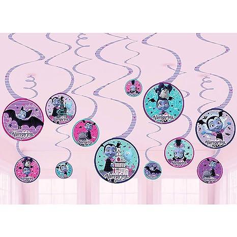 Amazon.com: Disney Vampirina Value Pack Spiral Decoraciones ...