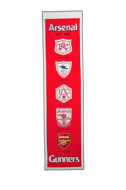 e76a459b538 Amazon.com : Winning Streak English Premiership Arsenal Heritage Banner :  Sports & Outdoors