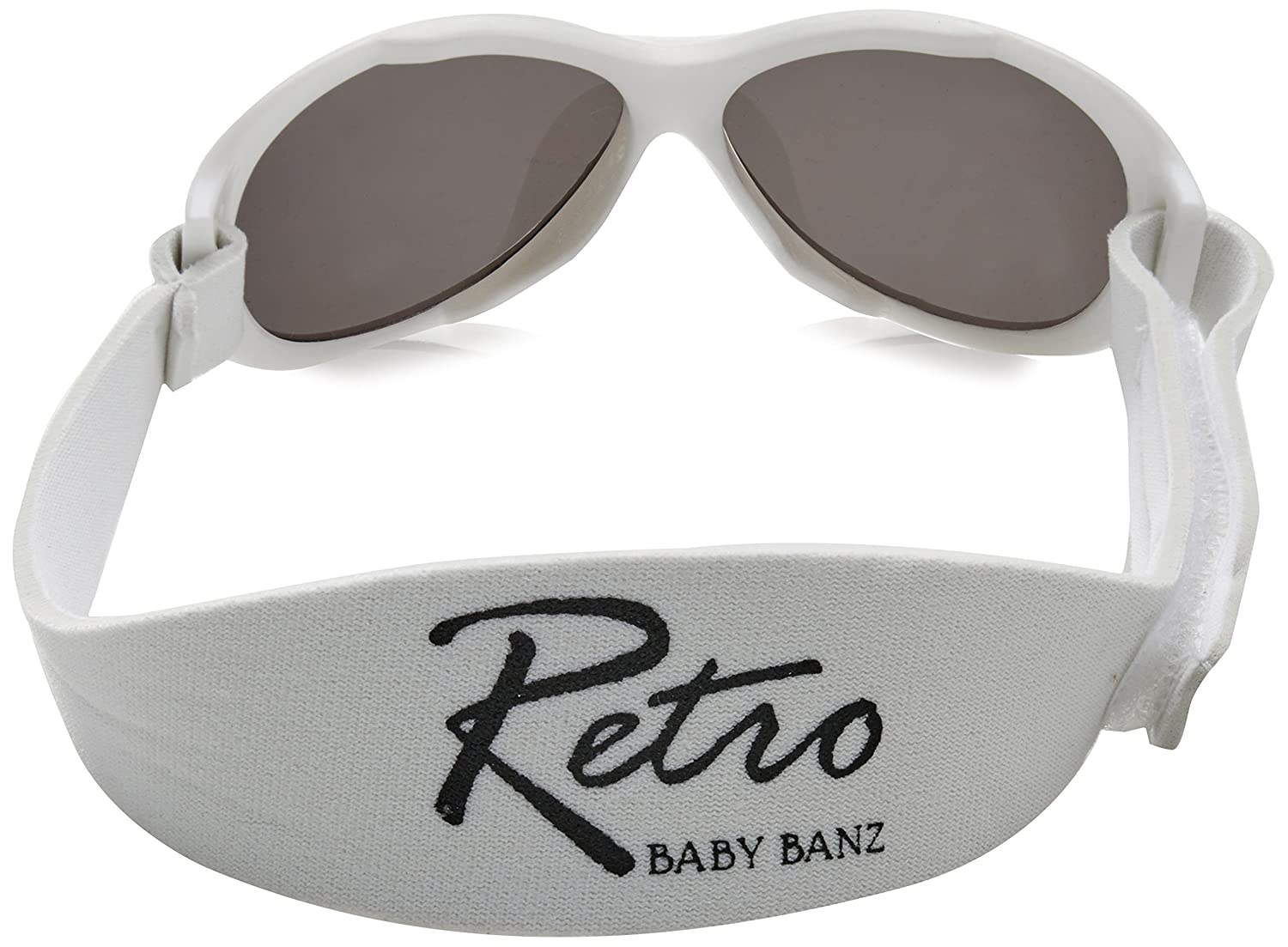 fa3ab564760 Amazon.com  BANZ  Retro BANZ - Baby  Arctic White Kids Sunglasses ...