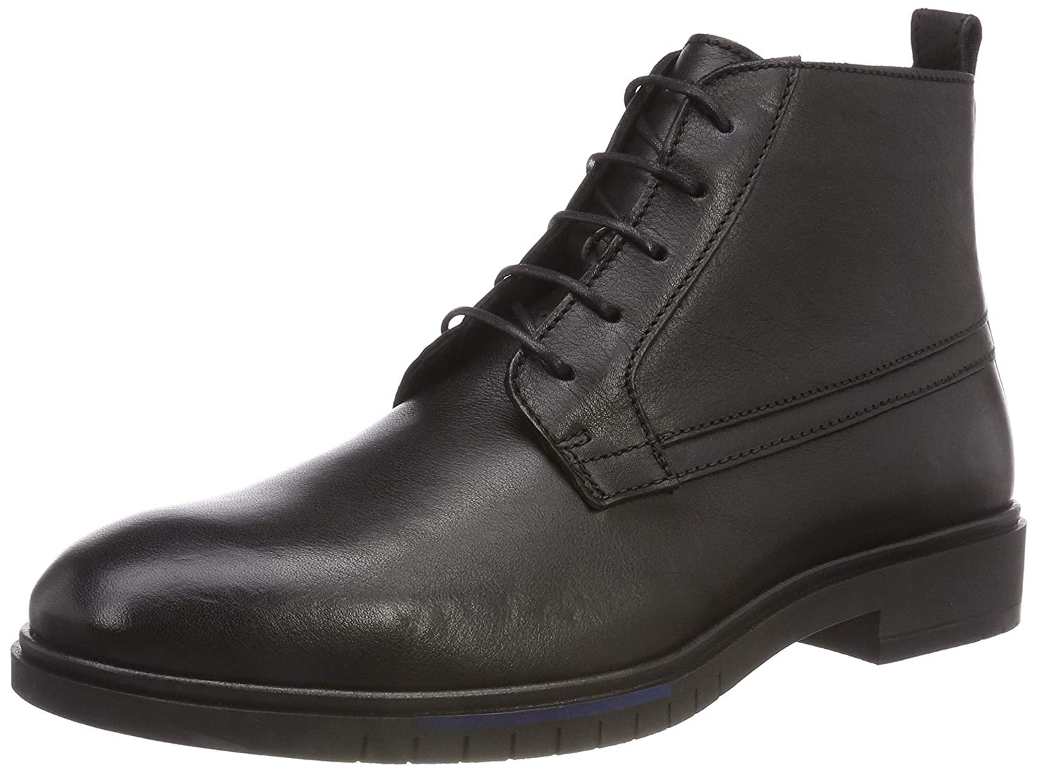 Tommy Hilfiger Flexible Dressy Leather Boot, Botas Desert para Hombre