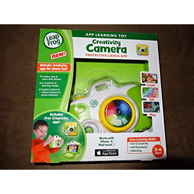 EDU-TOYS Leap Frog Creativity Camera with Protective Case & App-New in Package: Toys & Games