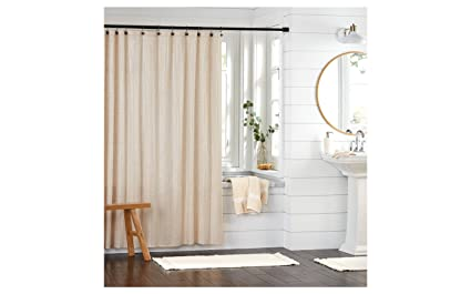 Image Unavailable Not Available For Color Threshold Rose Metallic Gold Print Shower Curtain