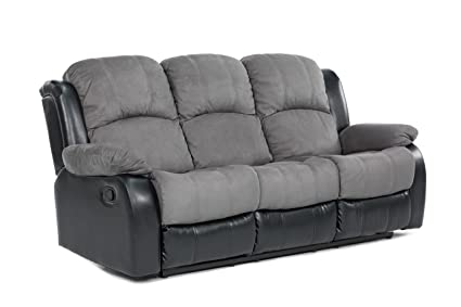Classic and Traditional Brush Microfiber Recliner Chair Love Seat Sofa Size - 1 Seater  sc 1 st  Amazon.com & Amazon.com: Classic and Traditional Brush Microfiber Recliner Chair ...