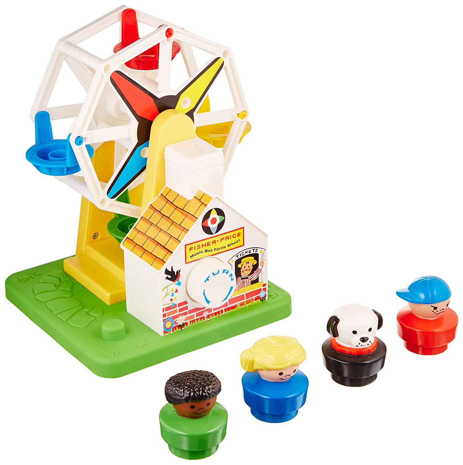 Amazon.com: Fisher-Price Musical Ferris Wheel Toy: Toys & Games