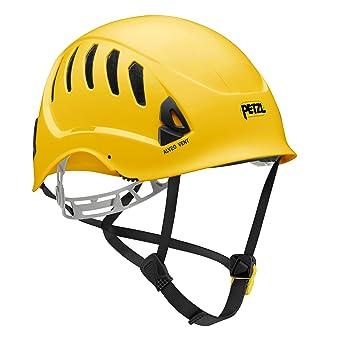 Petzl a20vya Alveo Vent Ventilación Casco para trabajo en altura y rescate, amarillo