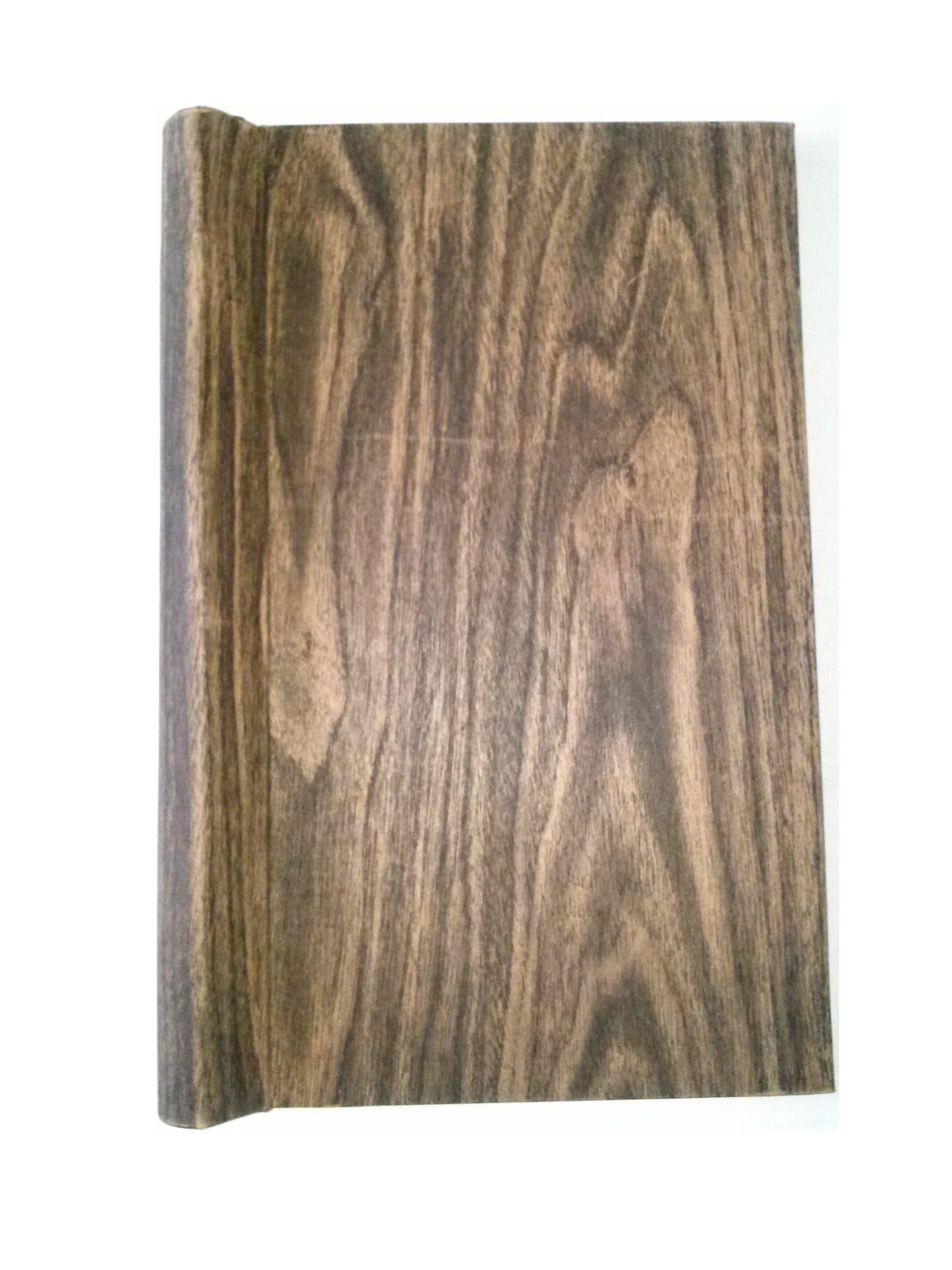 Six Star Spring Binder R-48 12W 8'' [W] x 14 1/2'' Wood Grain Cover