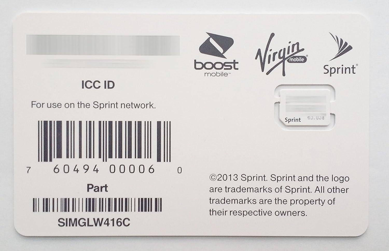 amazon com sprint boost virgin mobile iphone 5s u0026 5c nano sim