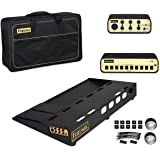 """Friedman Amplification Tour Pro 1530 Platinum Pack 15"""" x 30"""" Pedal Board with Riser, Professional Carrying Bag, Power Grid 10 & Bufffer Bay 6"""