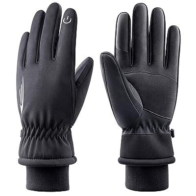 Winter Ski Gloves Men Women Windproof Keep Warm Touch Screen Snowboard Gloves UK