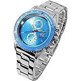 ディズニー 腕時計 ミッキーマウス ウオッチ うで時計 生誕80周年記念 ブルー 回転ベゼル 全5色 ディズニー 時計 ディズニー Disney WATCH [並行輸入品]