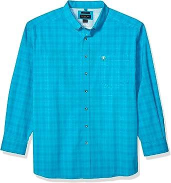Ariat Hombre 10025893 Manga Corta Camisa de Botones: Amazon.es: Ropa y accesorios
