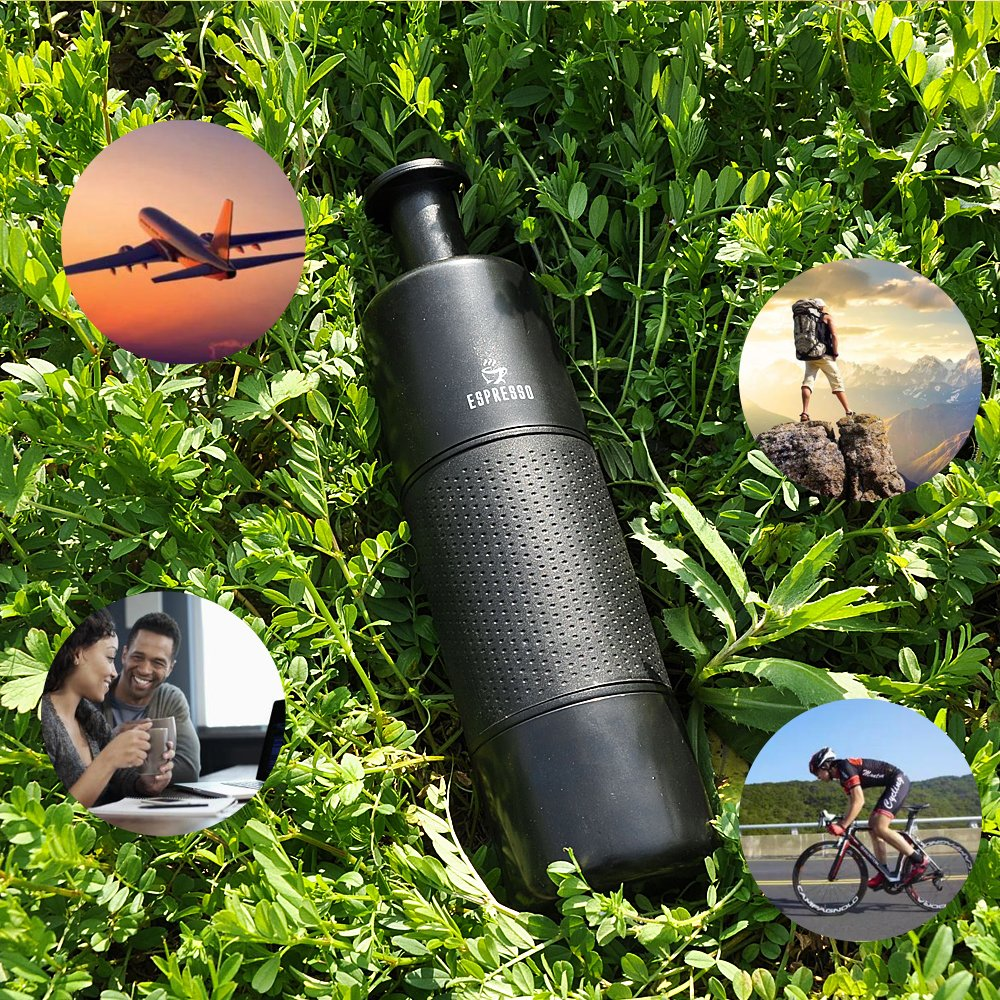 Portable Mini Pump Espresso Maker-Handheld Pressure Manual Coffee Machine for Camping Travel Outdoor Home and Office by DoubleSun (Image #7)