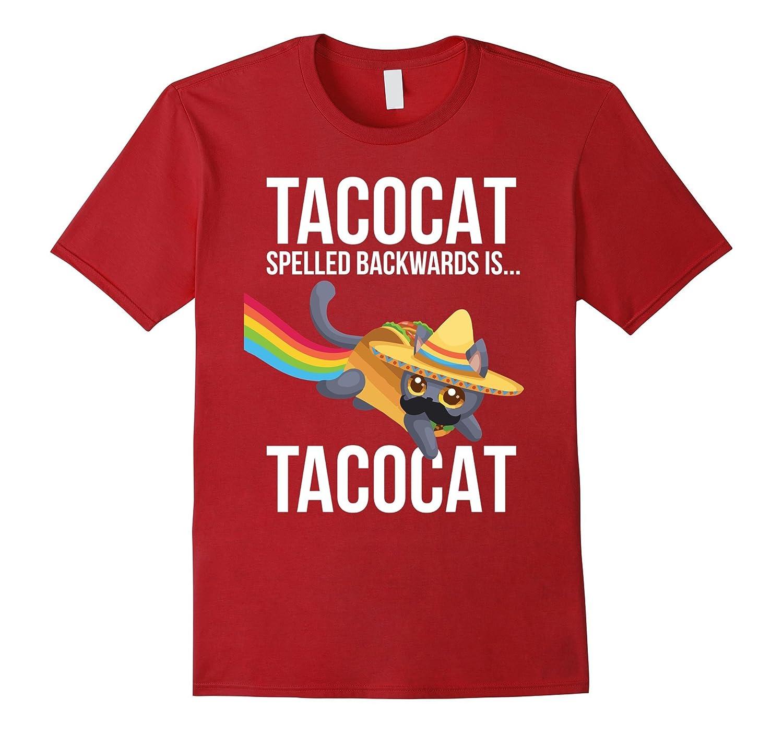 Funny Taco Cat Palindrome Tshirt - Mens, Womens & Kids-CL