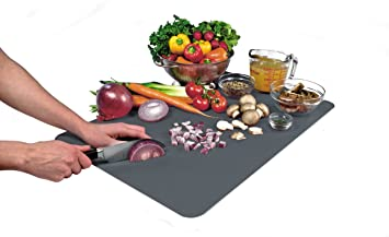 Tovolo Countertop Cutting Mat   Gray