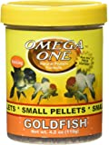 Omega One Goldfish Small Sinking Pellets, 4.2 oz.