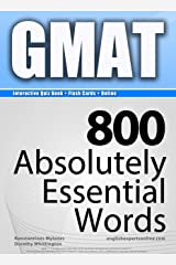 GMAT Interactive Quiz Book + Online + Flash Cards/800 Absolutely Essential Words. A powerful method to learn the vocabulary you need. Kindle Edition
