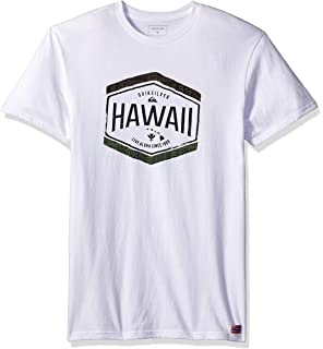 Amazon com: Quiksilver Men's Citrus Hawaii T-Shirt, Navy