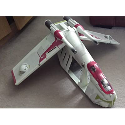 Star Wars Attack of the Clones REPUBLIC GUNSHIP (AOTC): Toys & Games