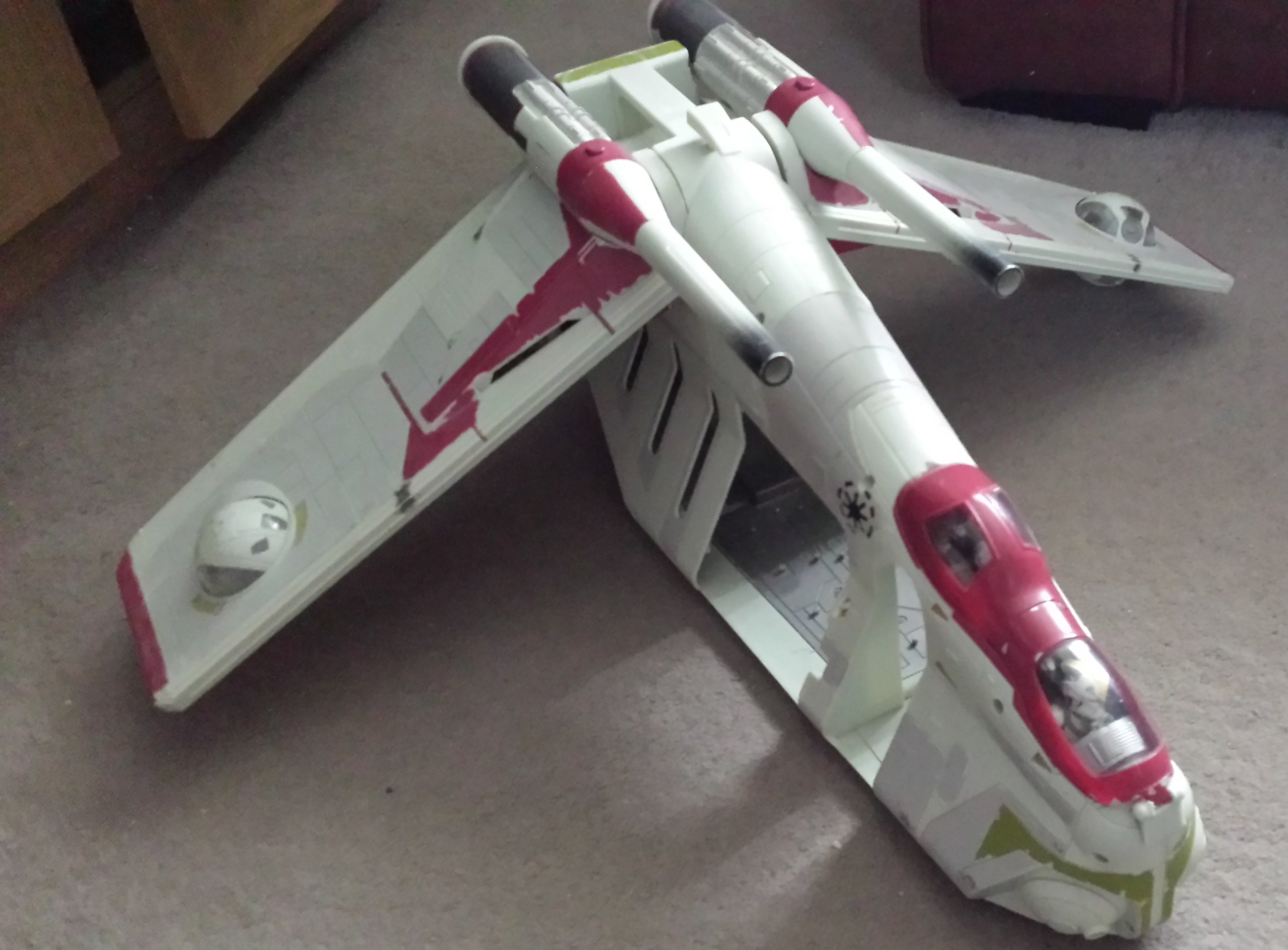 Star Wars Attack Of The Clones Republic Gunship Aotc Buy Online In Brunei Star Wars Products In Brunei See Prices Reviews And Free Delivery Over Bnd100 Desertcart