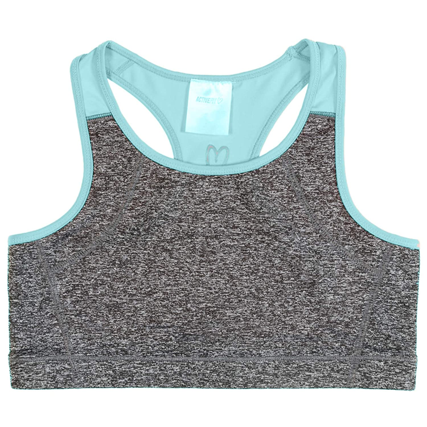Girls Active Sports Fitness Yoga Dance Crop Top