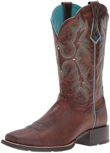 Amazon.com | Ariat Women's Tombstone Western Cowboy Boot | Mid-Calf