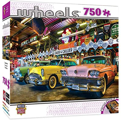 MasterPieces Wheels Jigsaw Puzzle, Three Beauties, Featuring Art by Linda Berman, 750 Pieces: Toys & Games