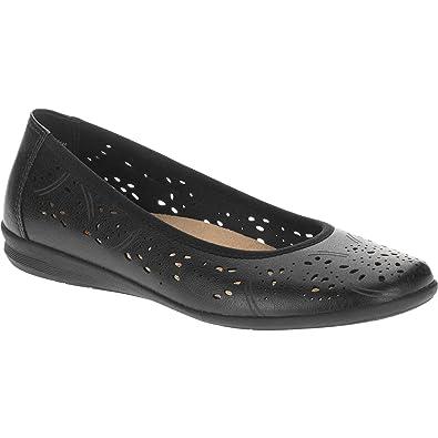 123684f28 Amazon.com | Earth Spirit Women's Flat Shoes, Black or Tan, Assorted ...