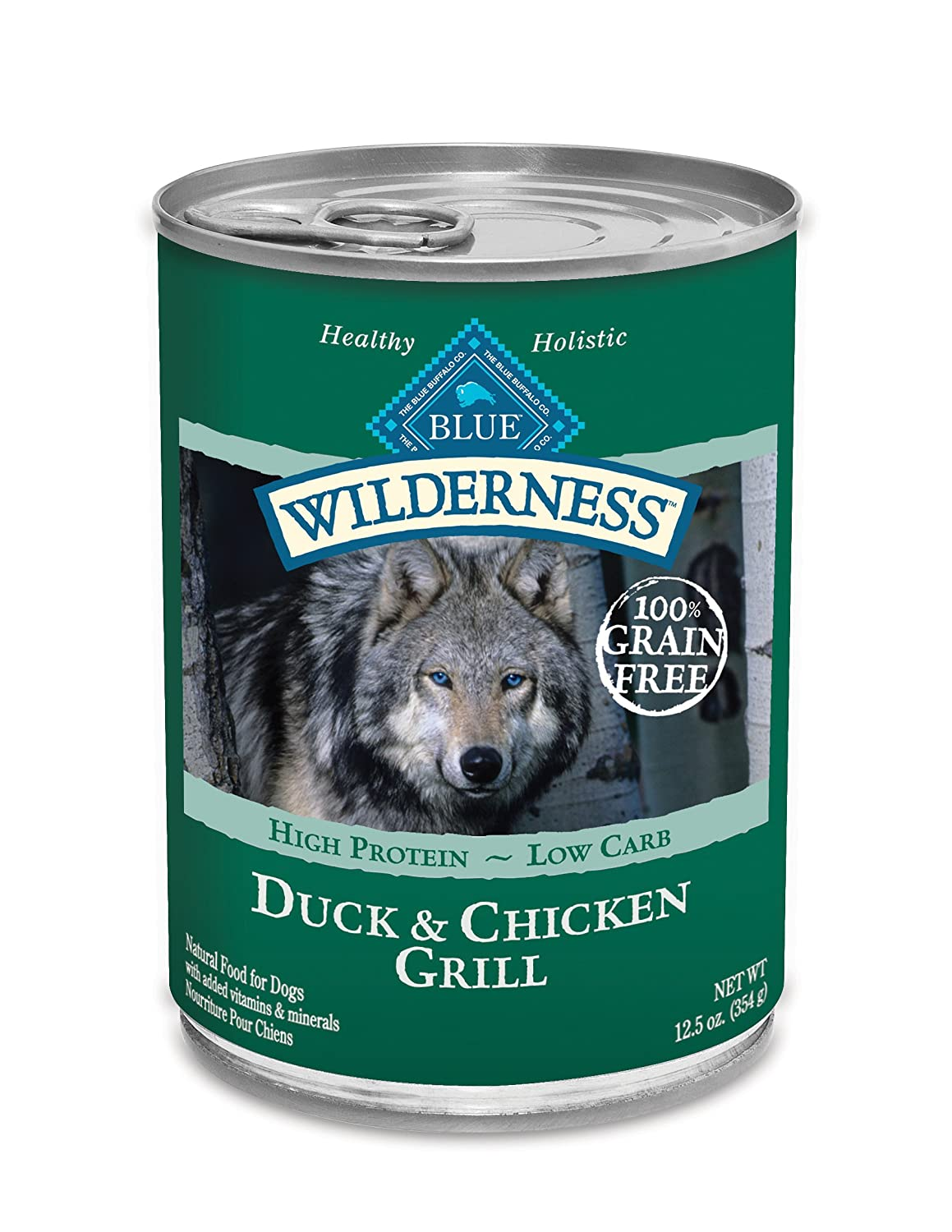 Best Canned Dog Food >> Amazon Com Blue Buffalo Wilderness Beef Chicken 12 Case 12 5oz