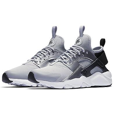 superior quality 3e68a 72d82 Nike Girls  Air Huarache Run Ultra (GS) Shoe Black Wolf-Grey