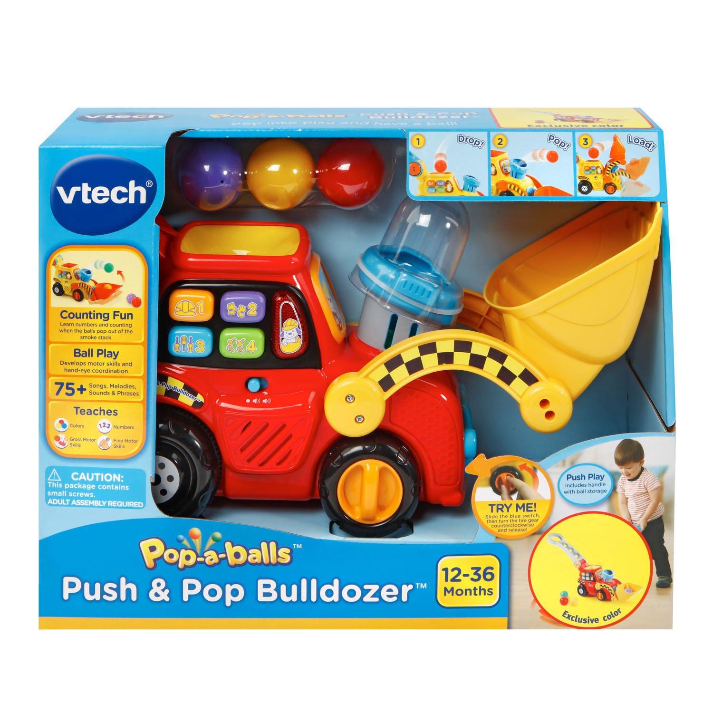 VTech Pop-a-Balls Push and Pop Bulldozer Amazon Exclusive by VTech (Image #7)