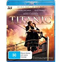 Titanic (2012 Version) (3D/2D Blu-ray)(4 DISC)