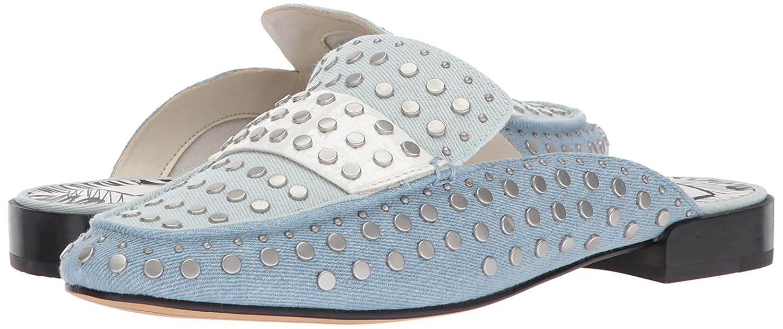 Dolce Vita Women's Maura Moccasin B06ZY9XWWB 7.5 B(M) US|Light Blue Denim