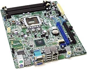 D6H9T Genuine OEM Dell Optiplex 990 Small Form Factor Desktop SFF TPM Motherboard Main System Logic PCA KA0120 P08D1Q9073IA01 Express Socket LGA1155 DDR3 Slot 474CH (Renewed)