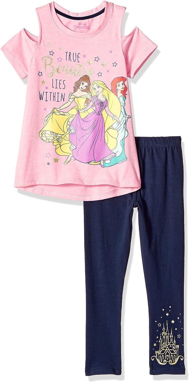 Disney Girls Princess Legging Set