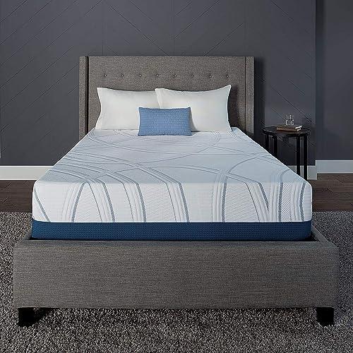 Serta SleepToGo 12″ Gel Memory Foam Luxury Mattre