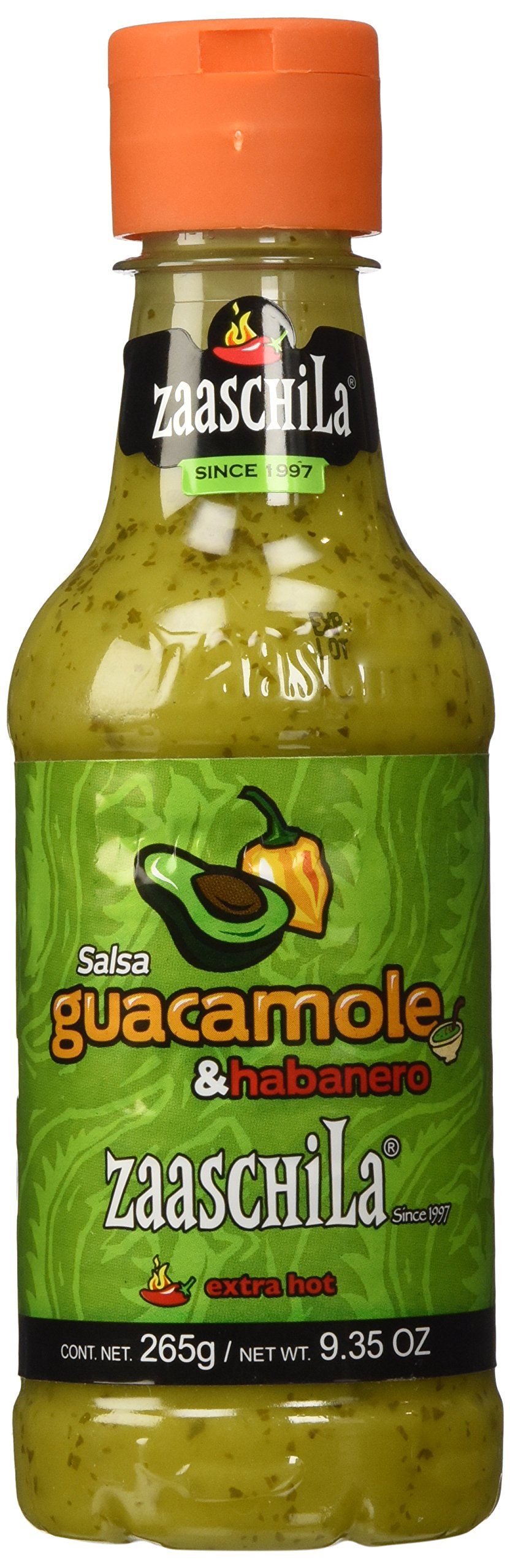 Zaaschila, Guacamole with Habanero 9.35oz (265g)