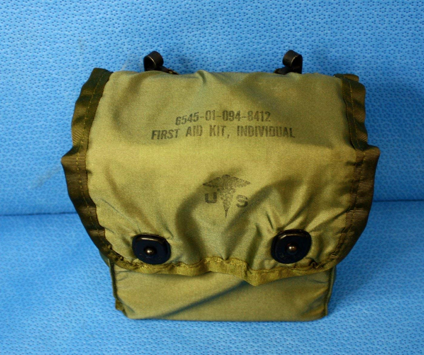 """Genuine First Aid Pouch /""""USGI/"""" The Real Deal/""""  NSN 6545 01 094 8412"""