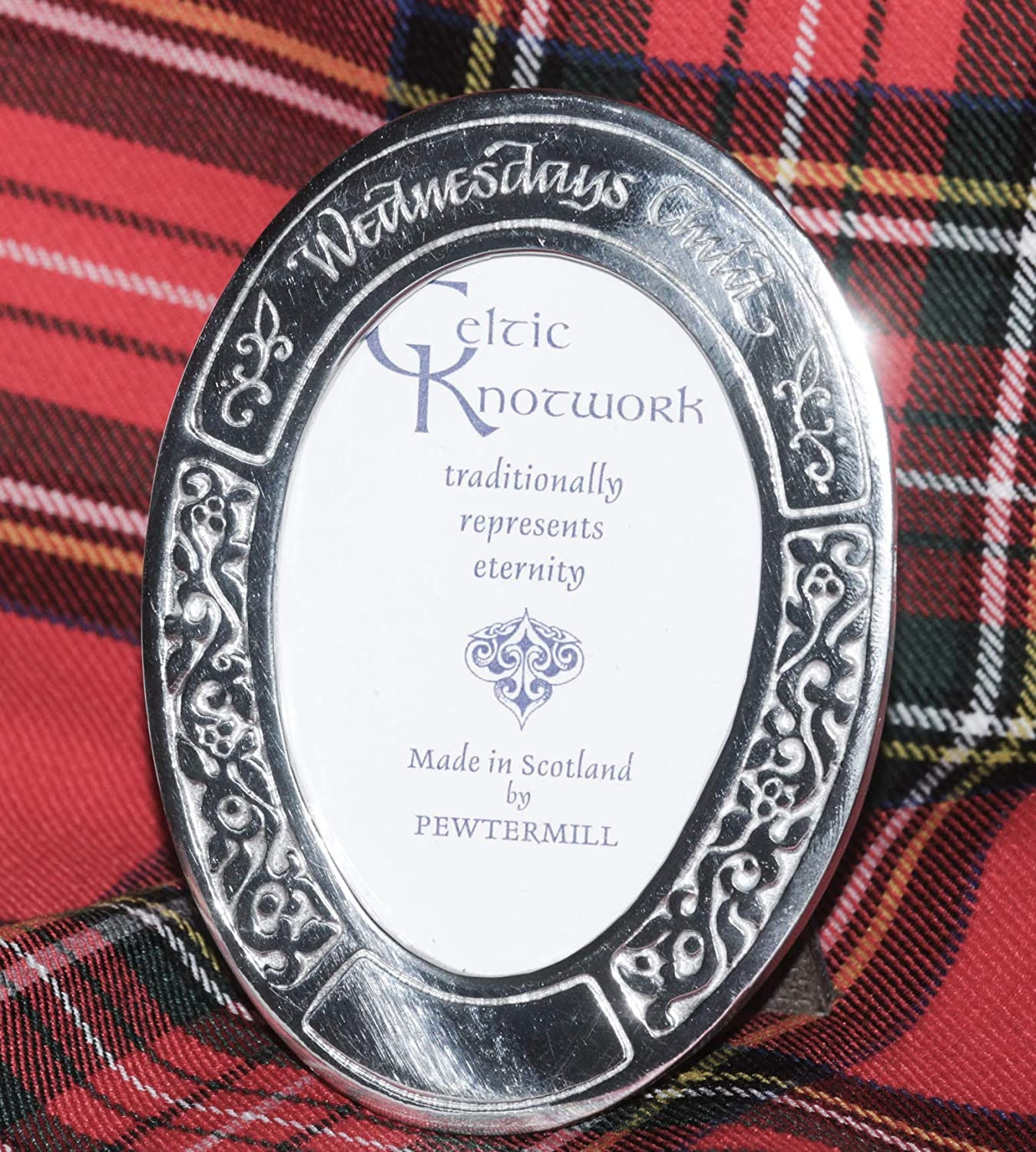 Free Standing 3x4 Polished Pewter Photo or Picture Frame For New Born Child or Christening Gift for Baby EngravedWednesdays Child
