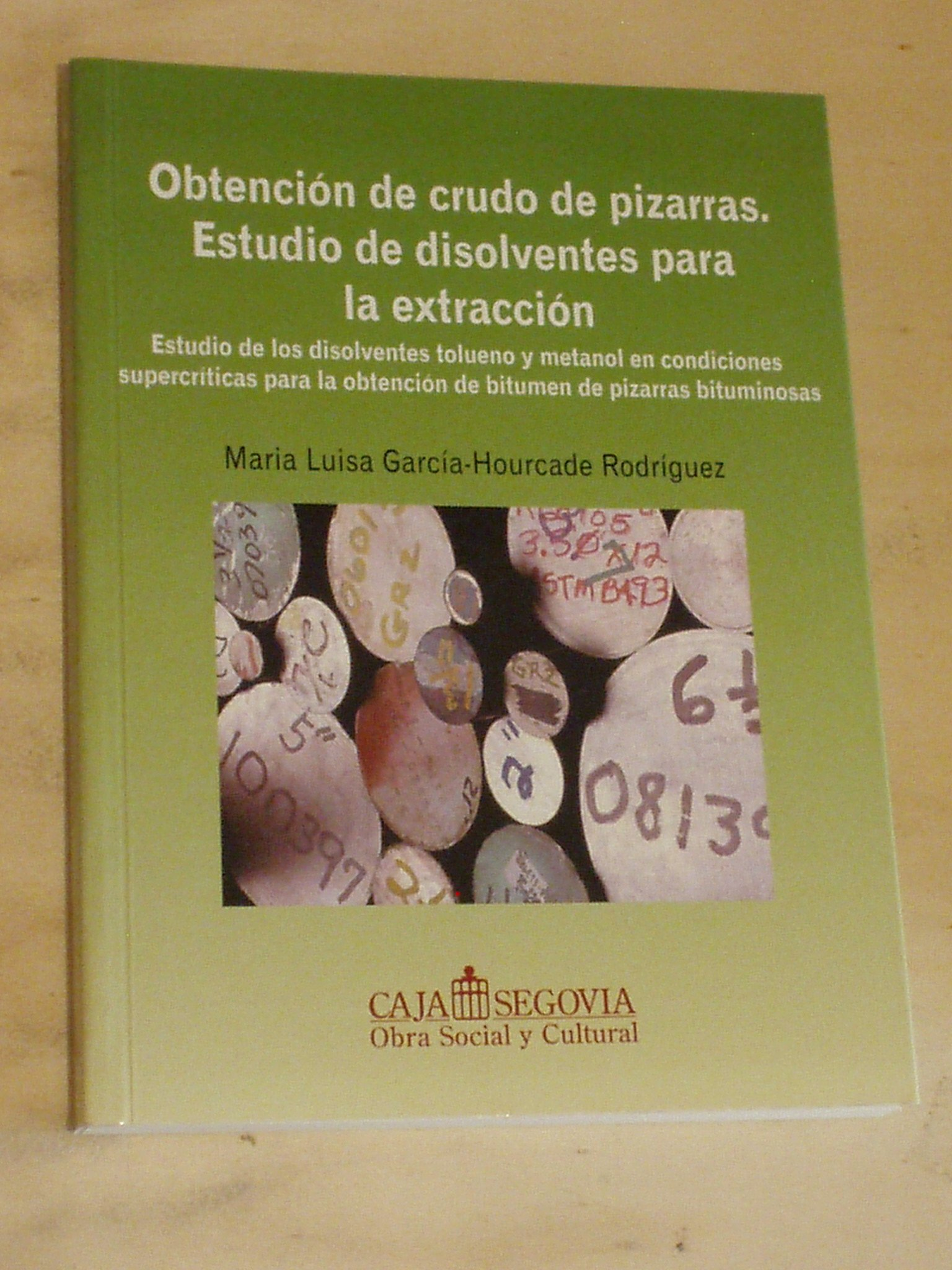 Obtención De Crudo De Pizarras. Estudio De Disolventes Para ...