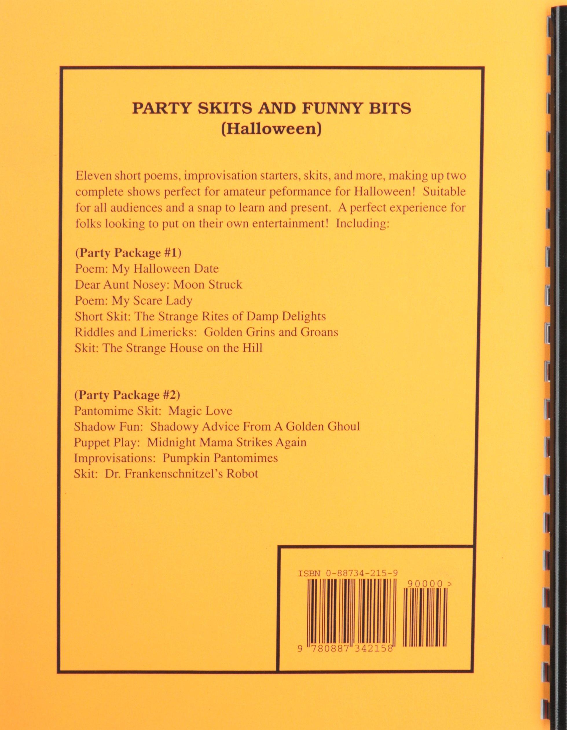 Party Skits and Funny Bits - Haloween: Amazon co uk: Milton