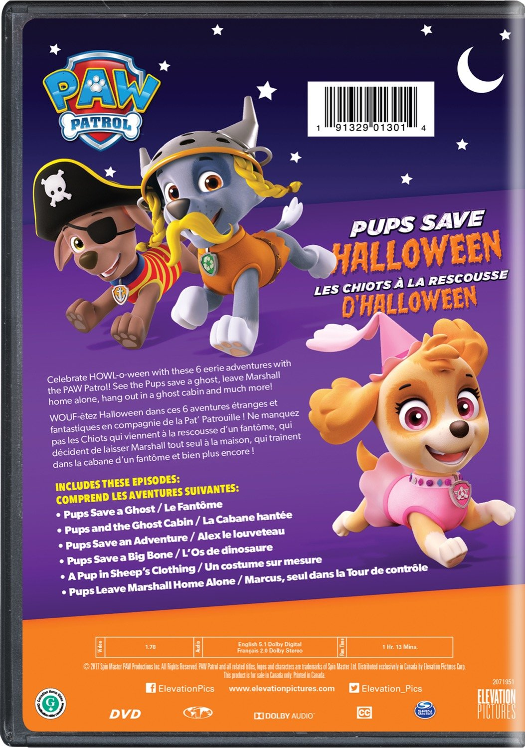 Amazon com: PAW Patrol - Pups Save Halloween: Kallan Holley