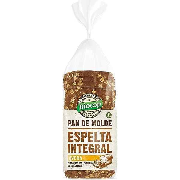 Biocop Pan Molde Espelta Int.Avena Biocop 400 G 300 g: Amazon.es: Alimentación y bebidas