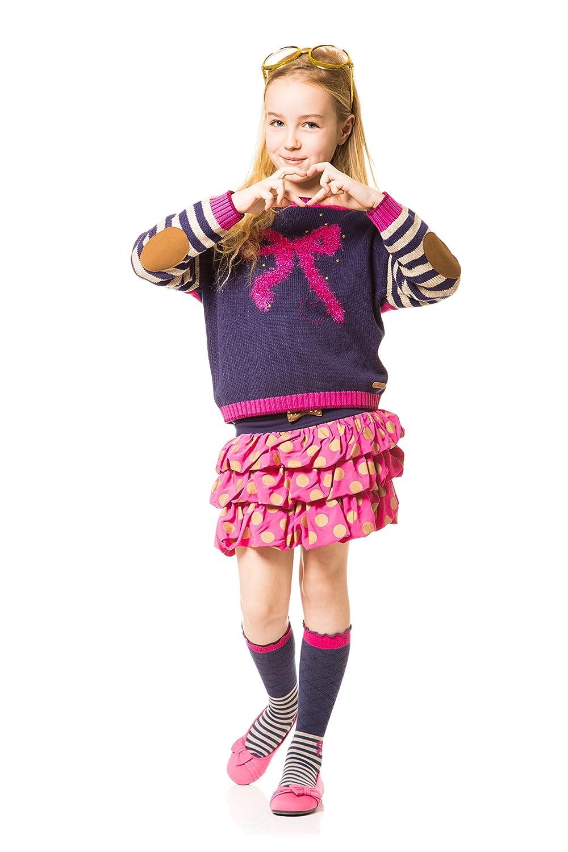 Sizes 7-12 Deux par Deux Girls Ruffled Skirt The Golden Dot